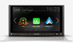Z-N528, 2-DIN Infotainer mit Apple CarPlay und Google Android Auto TM