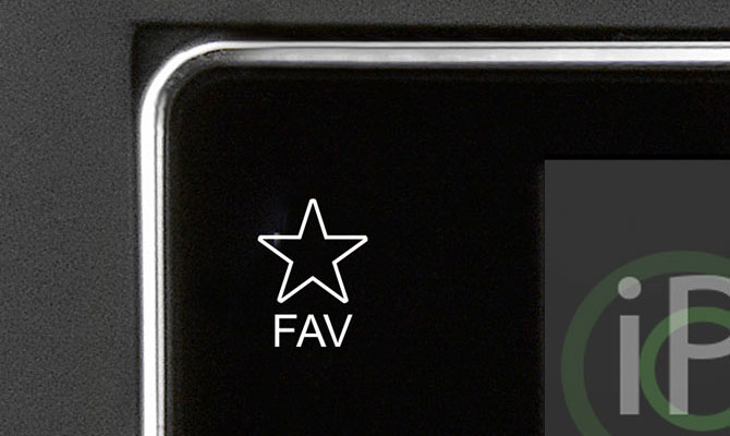 Favoriten-Taste und ALT-Button