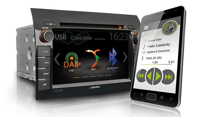 Smartphone app for audio functions