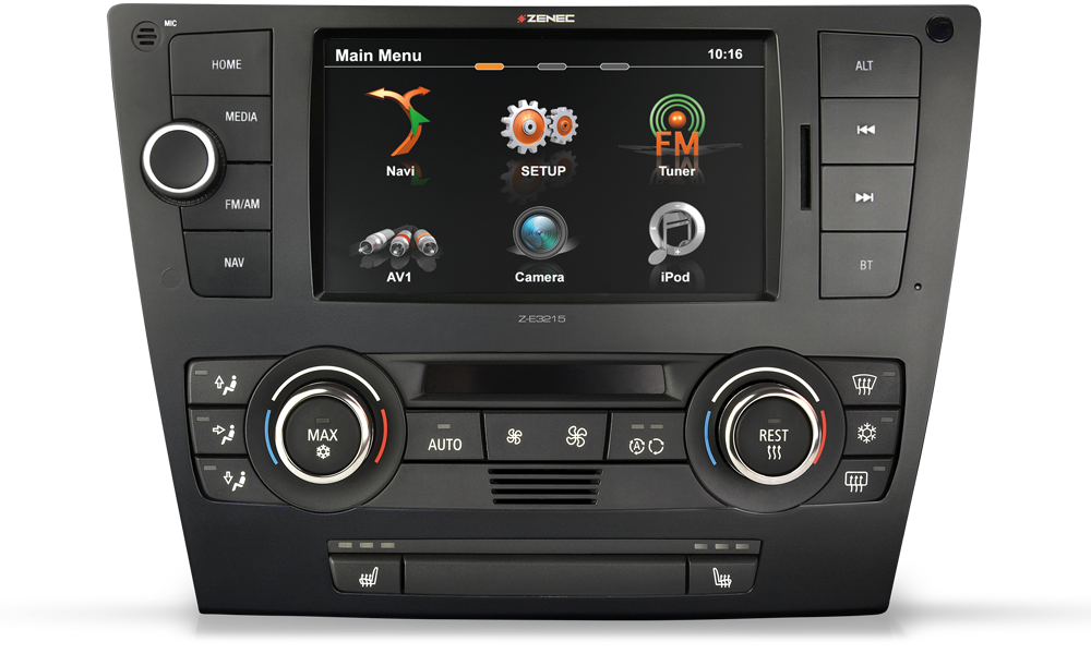 Z-E3215MKII - Auto Navi Multimedia Car Integration for BMW 3er
